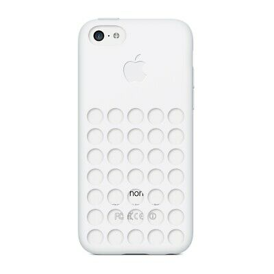 Apple Genuine White Silicone Case Protector for Apple iPhone 5C - MF039ZMA