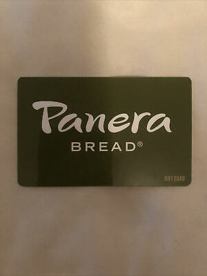 Panera Bread Gift Card 50 Value