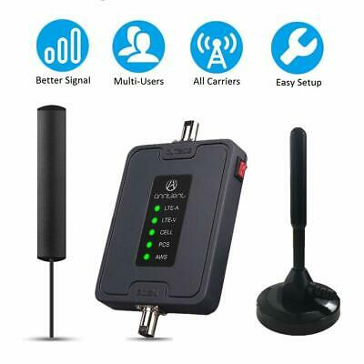 Cell Phone Signal Booster Kit Band 245121317 3G 4G LTE for Car RV Truck Use