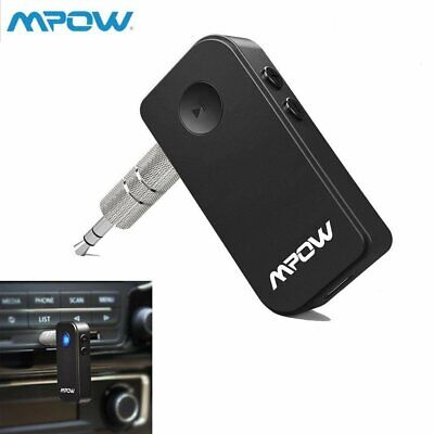 Mpow 044 Bluetooth Receiver 5-0 for Car Aux Audio Stereo Music Receiver Adapter