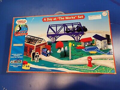 New Thomas - Friends Wooden Railway — Day at the Works Learning Curve 2006