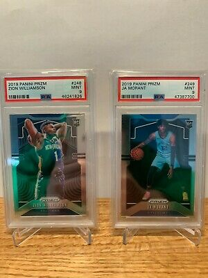 Repack NBA Basketball Zion Ja PSA 9 Prizm Rookie RC 10 Cards Hot Auto Pack Read