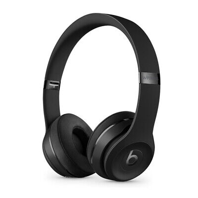 Beats by Dr- Dre Solo 3 Wireless On Ear Headphones Matte Black Icon Collection