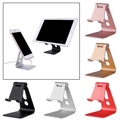 Folding Phone Stand Cell Phone Holder Dock Mount for iPad Desk Smartphones