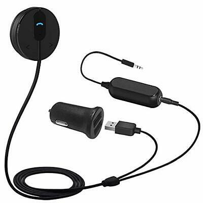 Besign BK01 Bluetooth Car Kit Wireless Receiver for Handsfree Talking and Music