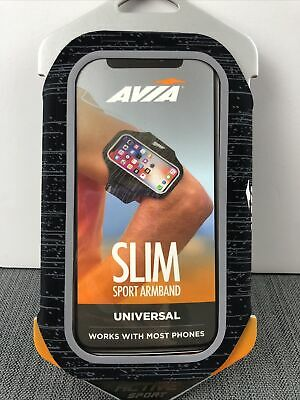 AVIA - SLIM Sport Armband - Universal Works With Most Phones Active Sport