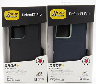 Otterbox Defender Pro Series Case w Holster for Samsung Galaxy S21 Ultra 5G