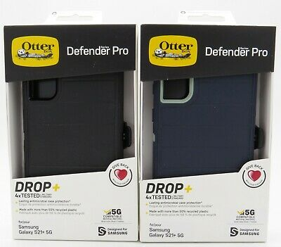 Otterbox Defender Pro Series Case w Holster for Samsung Galaxy S21- 5G S21 Plus