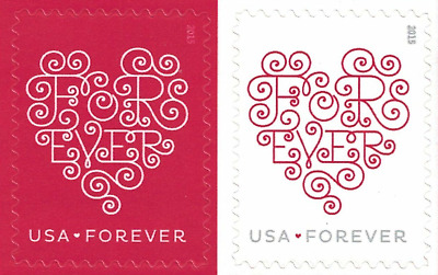 1000 50 x 20 USPS Forever Love Hearts Postage Stamp First Class Ship From USA