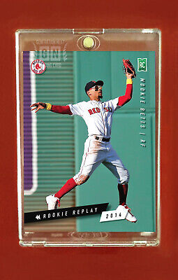 Mookie Betts  Boston Red Sox RC  Rookie Replay 2014  Generation Next
