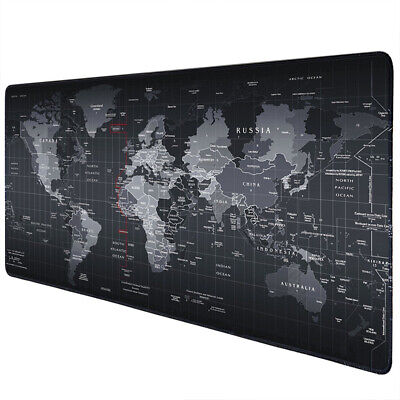 Extended High-Performance Gaming Mouse Pad Large Desk Keyboard Mat 23-6x11-8