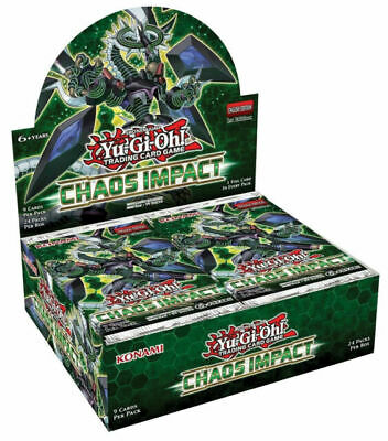 Yu-Gi-Oh Chaos Impact Sealed 1st Edition Booster Box Yugioh Tcg