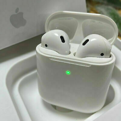 Sealed Genuine Apple Airpods 2nd Generation Earbud with Wireless Charging Case