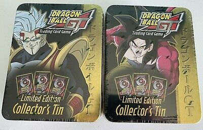Dragon Ball GT Goku - Baby Limited Edition Score Collectors Tins New - Sealed