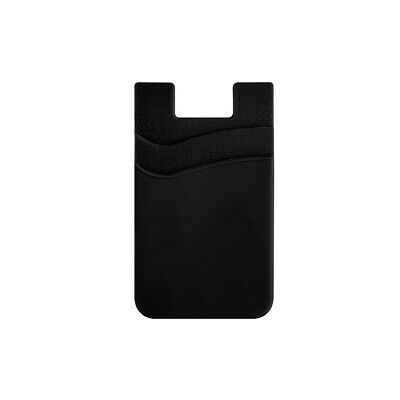 Two Pockets Cell Phone Credit Card Holder Wallet Sticker for Key Adhesive Hot