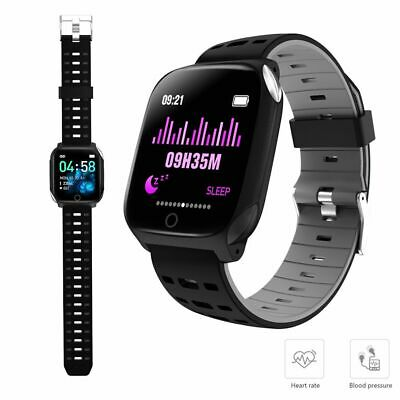 Boys Smart Watch ECG Monitor Heart Rate Sport Fitness Wristband for iOS Android
