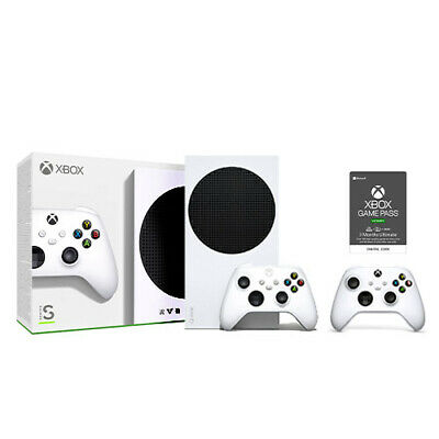 Xbox Series S Console - Extra Controller - Game Pass Ultimate 3 Month Email