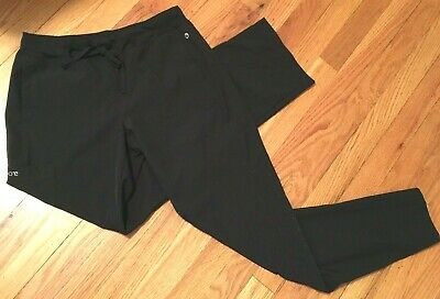 BARCO One 5205 Womens Cargo Track Scrub Pant Black S Small