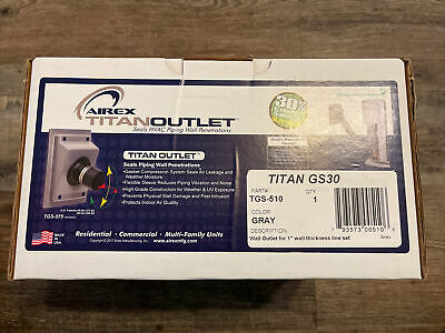 AIREX TITAN GS30 OUTLET WALL SEAL SYSTEM FOR HVAC LINE SETS FITS 1 INSULATION