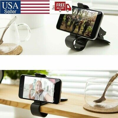 2X New Universal GPS Dashboard Mount Cell Phone Clip Clamp Holder Non-slip Stand