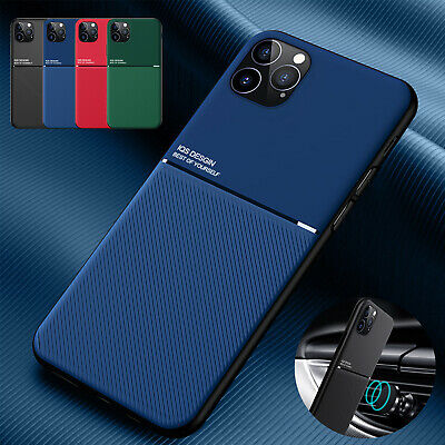 Matte Shockproof Case For iPhone Pro Max Mini 11 X XS 7 12 8 Plus Cover Magnet