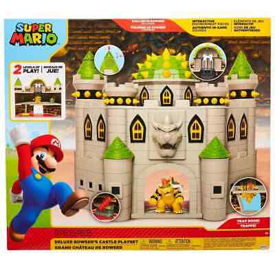 Nintendo Bowsers Castle Super Mario Deluxe Bowsers Castle Playset BRAND NEW