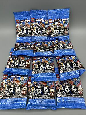 Lego 71024 Minifigures Disney Series 2 Blind Bag Lot Of 12 New Factory Sealed
