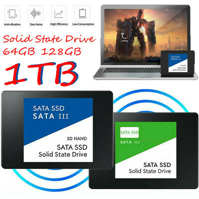 1 TB Solid State Drive Internal SSD Hard Drive up to 500 MBs SATA 6-0 GBs A-