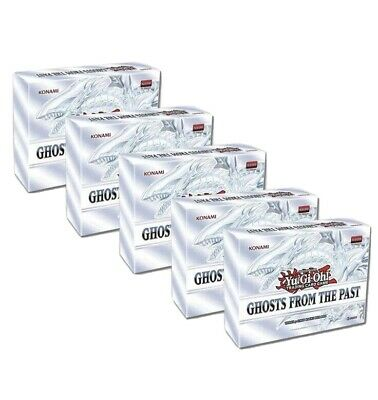 Yugioh Ghosts from the Past Sealed Display Box 5 MINI-BOXES 1st Edition In Hand