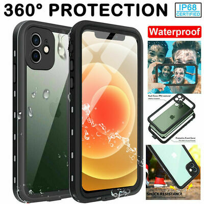 For Apple iPhone 12 12 ProMax Case Waterproof Shockproof with Screen Protector