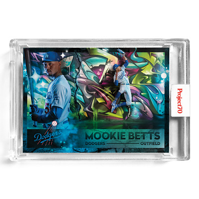 Topps Project 70 Card 403 - 1960 Mookie Betts by Mikael B -Presale-