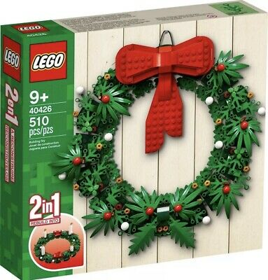 LEGO 40426 Christmas Wreath 2-in-1 Candles Holiday Advent Brand New - Sealed