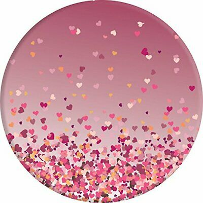PopSockets Expanding Stand and Grip for Smartphones Tablets Heart Confetti