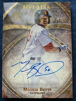 2014 TOPPS FIVE STAR MOOKIE BETTS AUTO 312  499