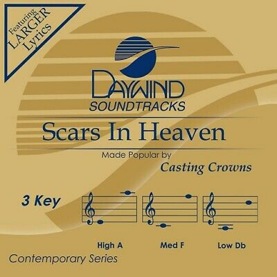 Casting Crowns - Scars In Heaven - Accompaniment  Performance Track - New