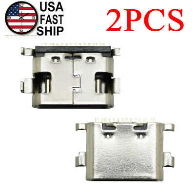 2X Type-C USB Charger Charging Port Connector For ONN Tablet 100003561 100003562
