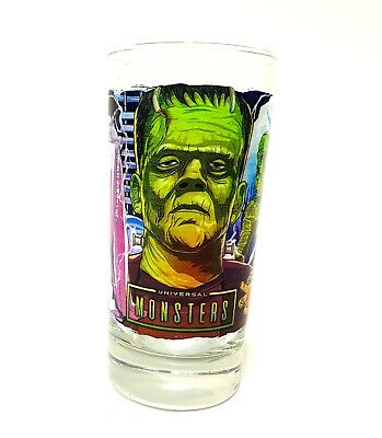 Universal Halloween Horror Nights 2021 Monsters Collectible Glass