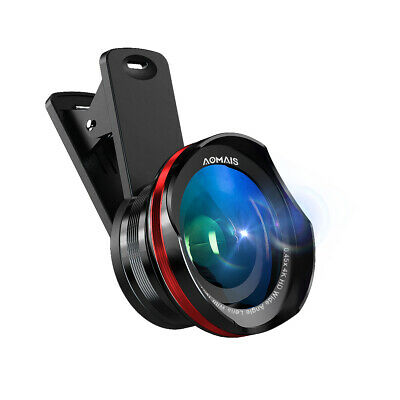 Aomais 18x macro Phone Camera Lens Kit Clip On for iPhone Android Smartphone