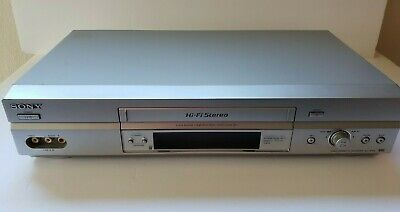 Sony SLV-N750 4-Head Hi-Fi VCR Video Cassette Recorder VHS TESTED WORKING