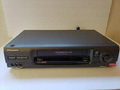 Panasonic PV-V4660 Omnivision 4-Head VHSVCR RecorderPlayer With Remote Tested