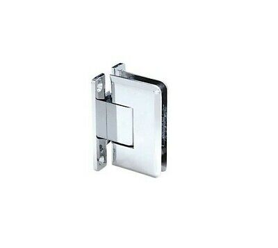 CRL CR Laurence C0L037CH Polished Chrome Wall Mount Cologne Hinge