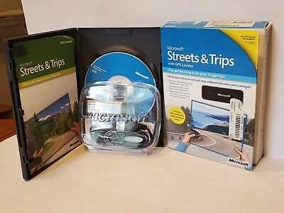 2010 Microsoft Streets and Trips with GPS Locator for PC