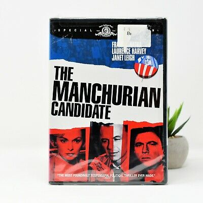 The Manchurian Candidate DVD - Frank Sinatra - Special Edition - 1962