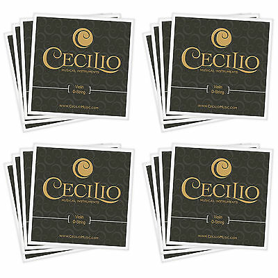 New VIOLIN STRINGS Sizes 44 - 34  4-Sets 16-Strings