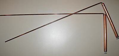 LARGE COPPER Ghost Hunting Hunter Detection Detector Paranormal DOWSING RODS