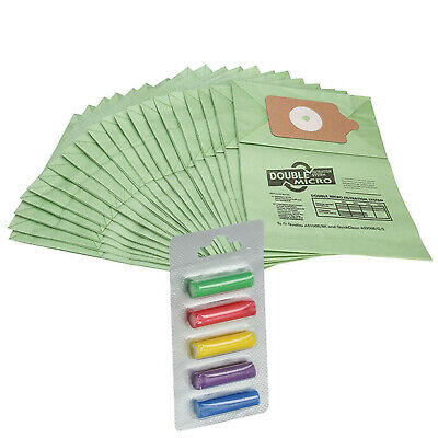 20 PACK - FITS NUMATIC HENRY HOOVER VACUUM CLEANER  PAPER DUST BAGS & Fresheners