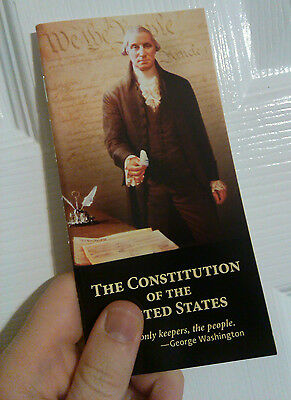 POCKET CONSTITUTION UNITED STATES - DECLARATION OF INDEPENDENCE NEW RON PAUL USA