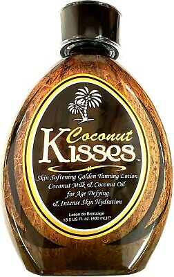 Ed Hardy Coconut Kisses Golden Tanning Bed Lotion Tanovations - 13-5 oz
