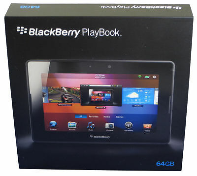 NEW IN BOX-64GB BlackBerry 7 PlayBook Tablet WiFi PRD-38548-003 P100-64WF NA US