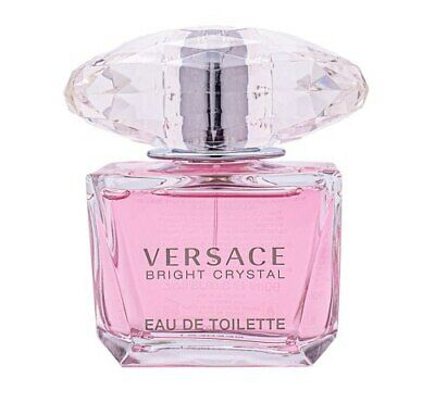 Versace Bright Crystal Perfume for Women edt 3-0 oz New Tester with Cap